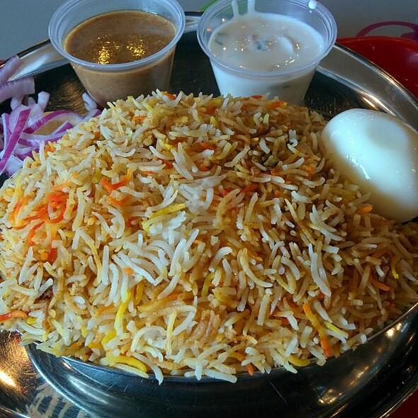 Chicken Dum Biryani @ Bombay Chaat