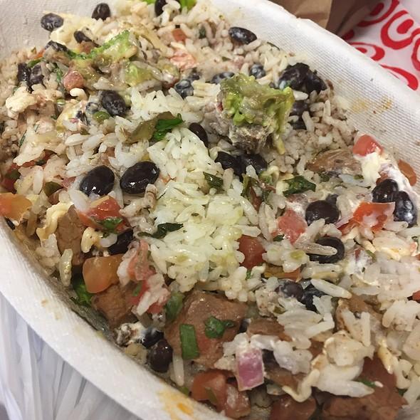 Steak Burrito Bowl @ Chipotle