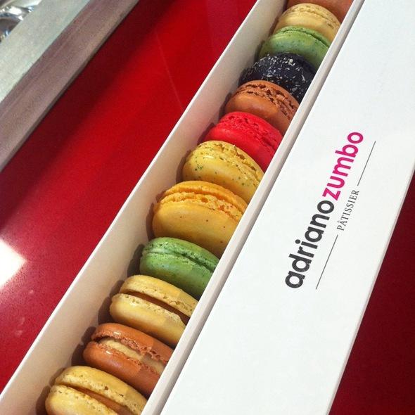 Macarons @ Adriano Zumbo Pattisier