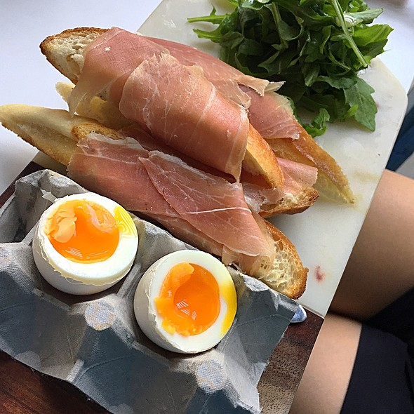 Ham And Eggs @ Bread + Butter