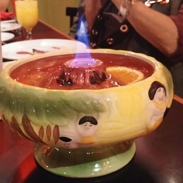 Flaming Scorpion Bowl