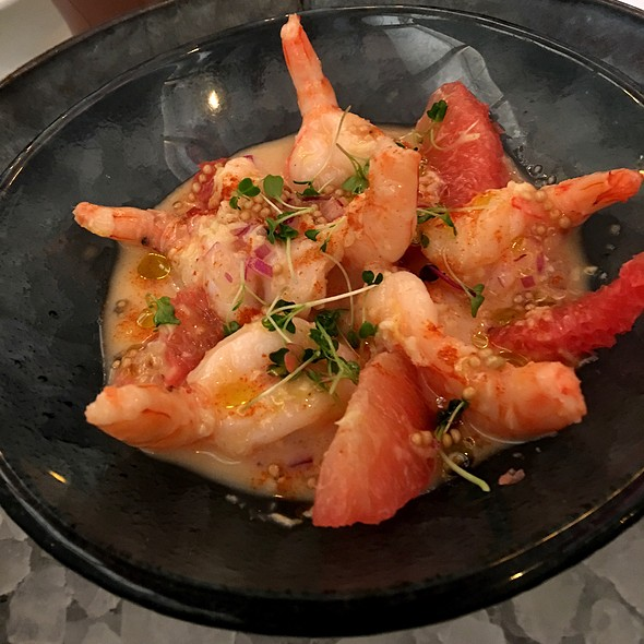 Shrimp & Grapefruit Salad @ America Eats Tavern
