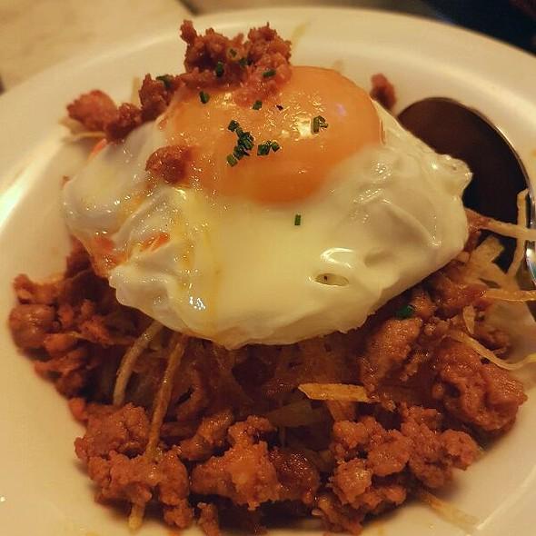 Zorza huevo Y Patatas @ Casa de Tapas Cañota