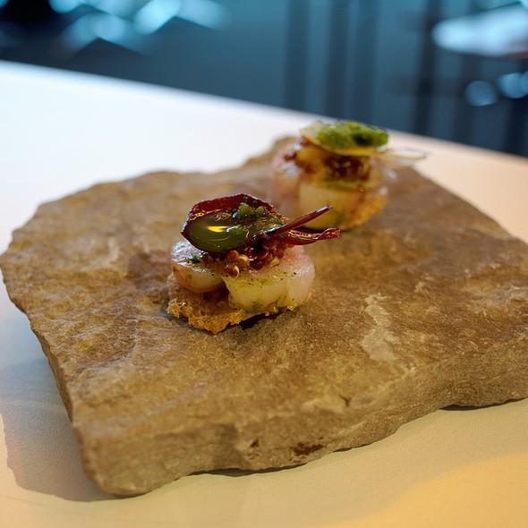 Fish And Quinoa Amuse Bouche @ Wy