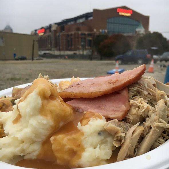 Thanksgiving Dinner @ Lucas Oil Stadium