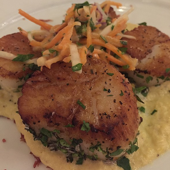 Herb Crusted Scallops