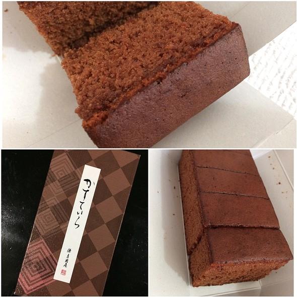 Chocolate Kastera @ MInamoto Kitchoan - Kahala Kiosk
