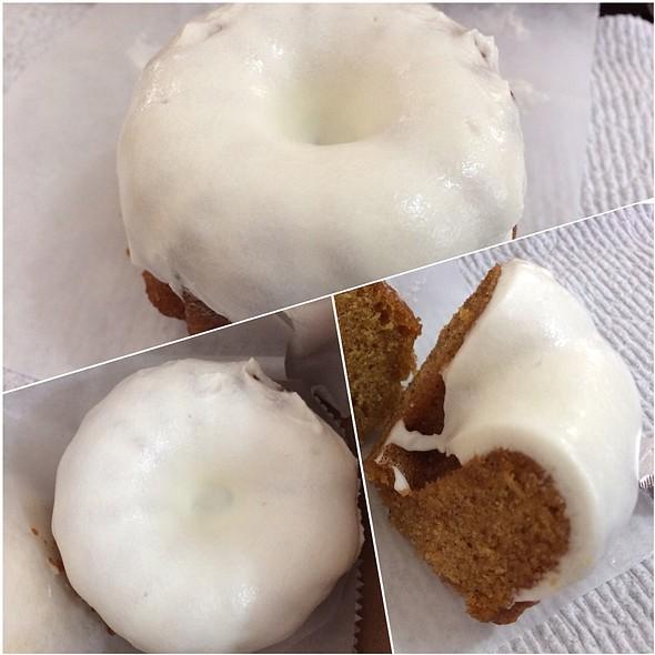 Pumpkin Spice Cakebomb @ Pipeline Bakeshop & Creamery