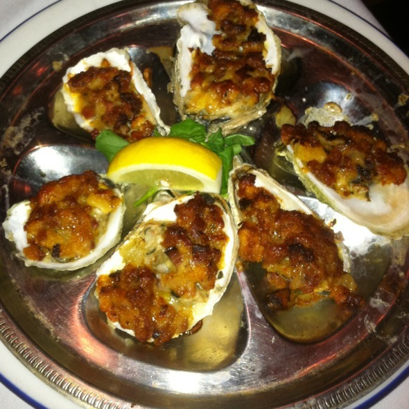 Baked Oysters - Max's Oyster Bar, West Hartford, CT