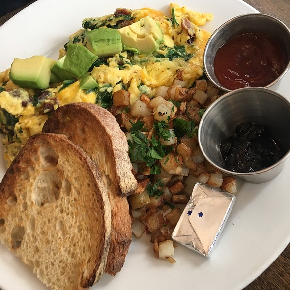 Build Your Own Scramble @ Blu Jam Cafe