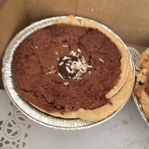 German Chocolate Pie @ Petaluma Pie Company