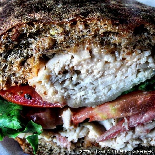 Earl's Club Sandwich @ Earl of Sandwich