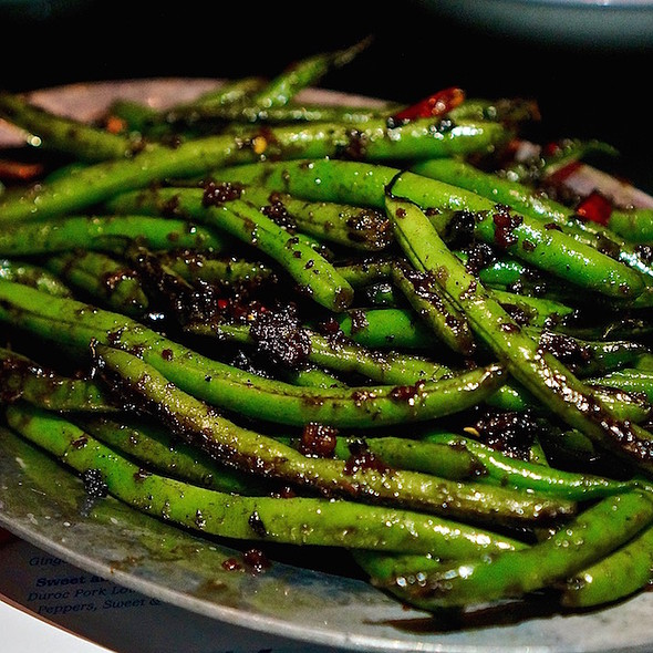 Dry Fried Green Beans @ Won Fun Chinese