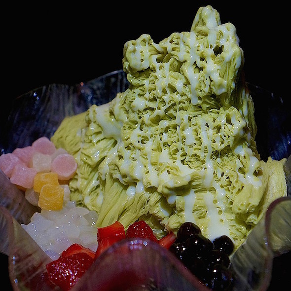 Matcha Shaved Ice @ Won Fun Chinese
