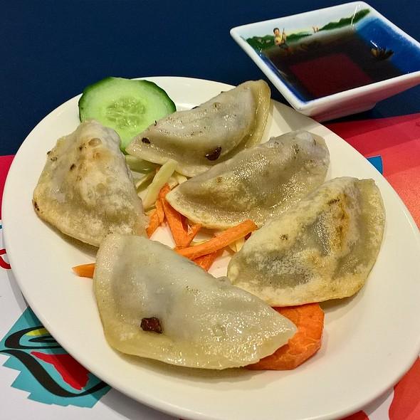 Grilled Vegetarian Dumplings @ Noodle Noodle