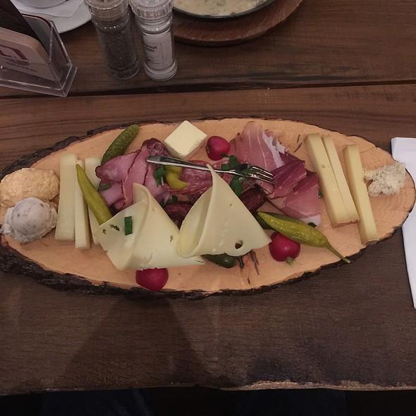 Cheese and ham plate @ Servus