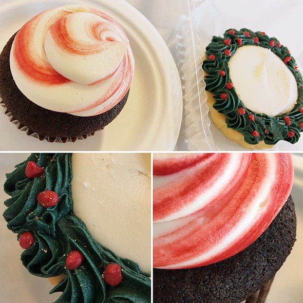 Candy Cane Cupcake @ Capital City Bakery