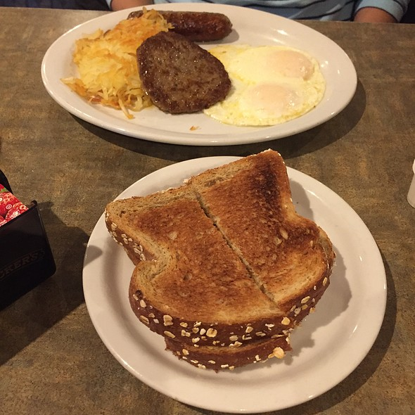 Sausage And Eggs @ Juicy's Famous River Cafe