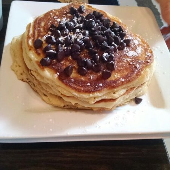 Chocolate Chip Pancakes @ Rooster