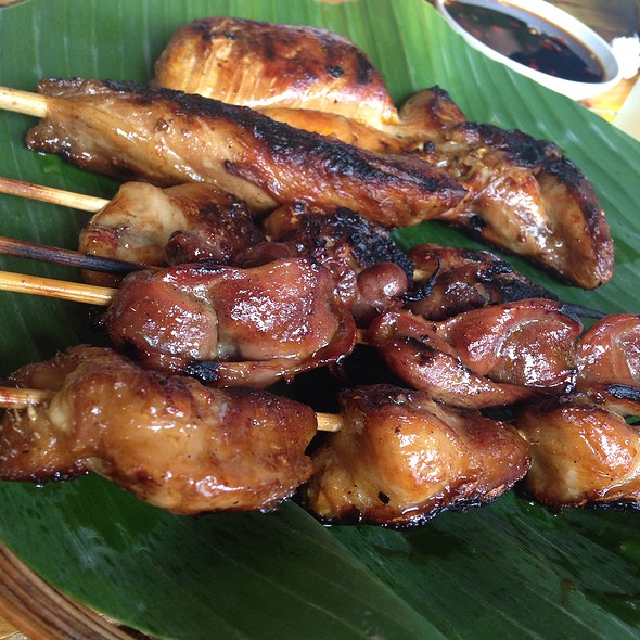 Various Chicken Parts On Stick @ Jt's Manukan