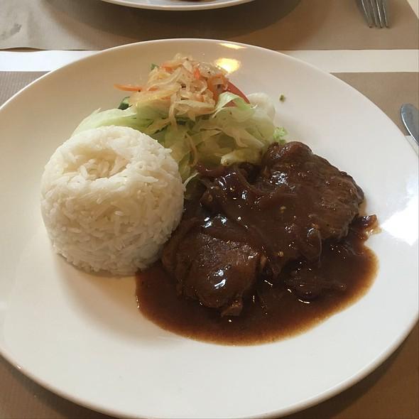 Filipino-style Beef Steak