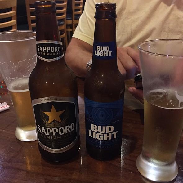 Beers @ Kampai Japanese and Thai Restaurant