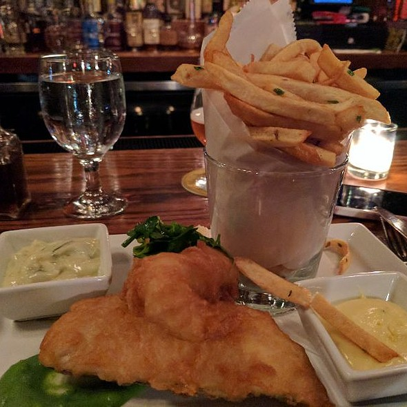 Fish and Chips @ Owen & Engine