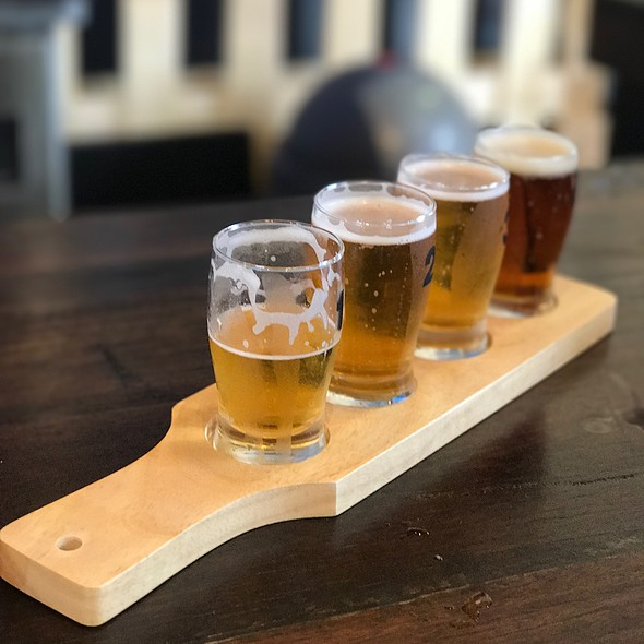 Sampling Paddle @ Brendale  Brewing Company