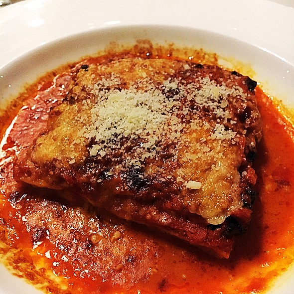 Wild Boar Lasagna @ Vico