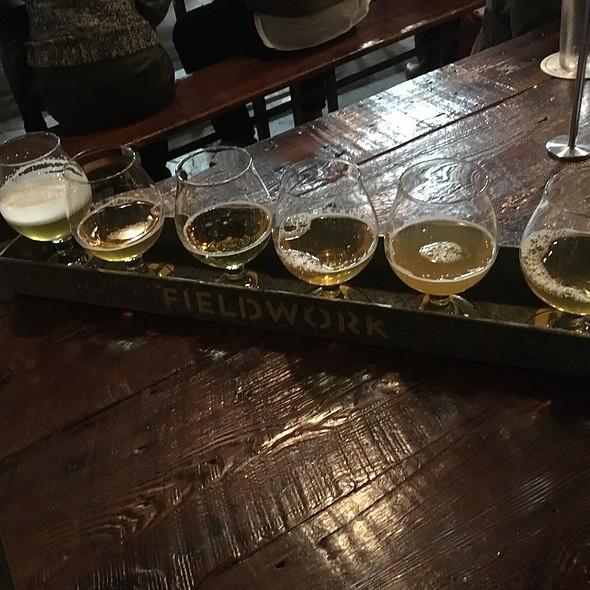 Beer Flight @ Fieldwork Brewery