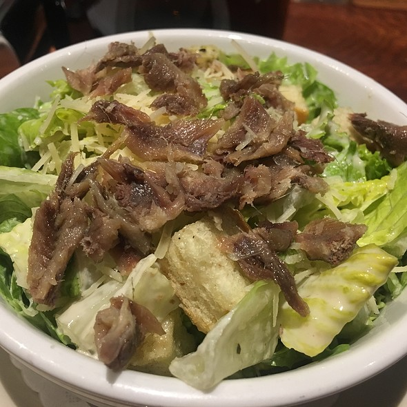 Caesar Salad with Anchovies @ Marin Brewing Company