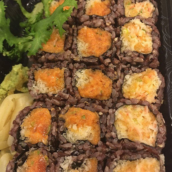 Spicy Tuna, Spicy Salmon, Spicy Crab
