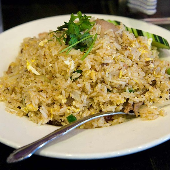 Roasted Duck Fried Rice @ King of Thai Noodle On Union