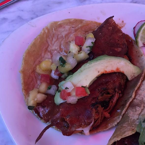 Chicken Al Pastor Taco @ Puesto Mexican Street Food