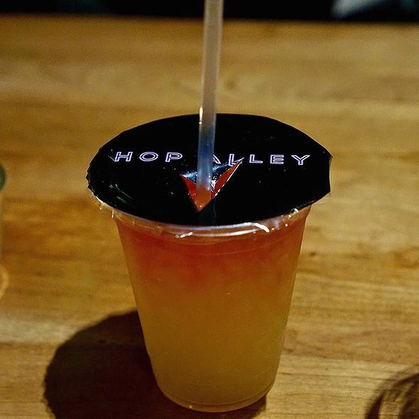 Heaven Cocktail –Prairie gin, passion fruit, Batavia arrack, lime