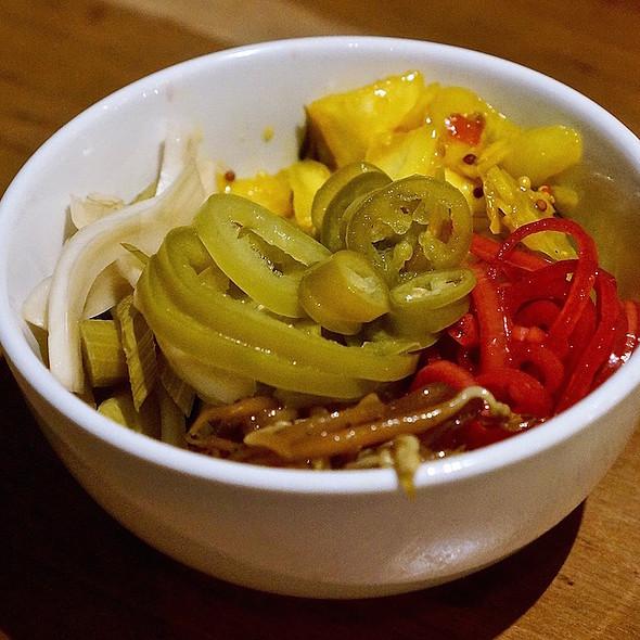 Yen tsai –pickled vegetables