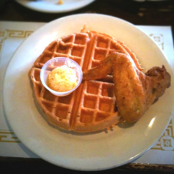 Chicken and Waffles @ Maxine's Chicken & Waffles
