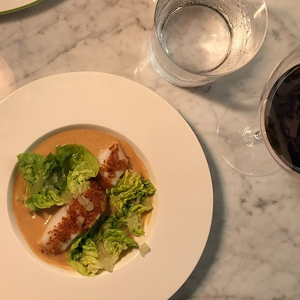 Cod   Bacon Foam   Lettuce @ Brasserie Colette