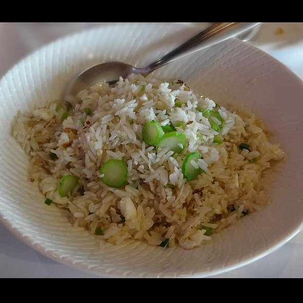 Fried Rice with Conpoy and Dried Shrimp @ Crystal Jade Dining IN