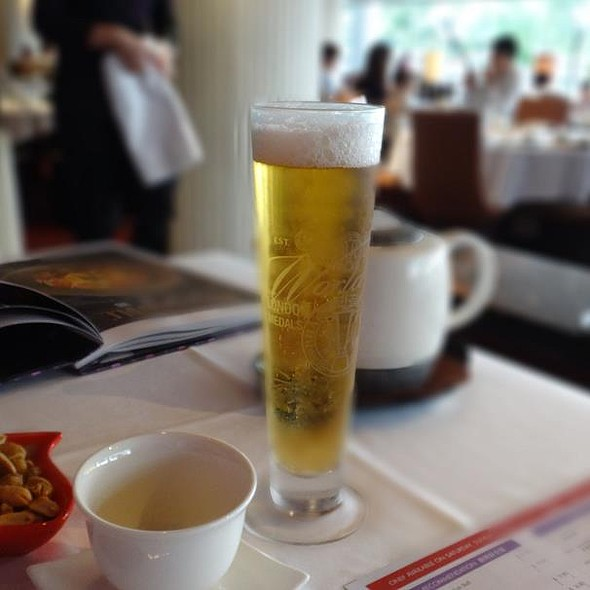 Tiger beer @ Crystal Jade Dining IN