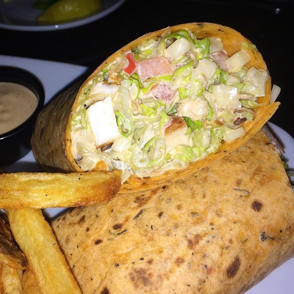 Grilled Chicken Wrap @ Mac's Tavern