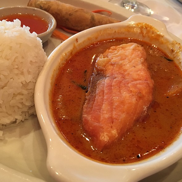 Salmon With Panang Curry