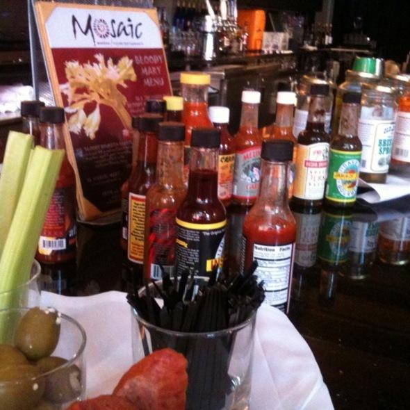 Sunday Bloody Mary Bar @ Mosaic Modern Fusion Cuisine