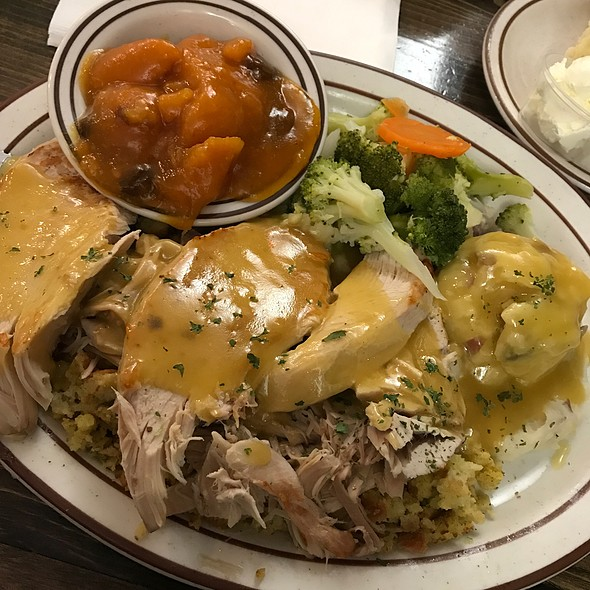 Thanksgiving Day Turkey Dinner Special