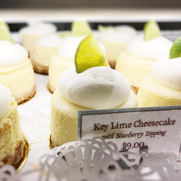 Key Lime Cheesecake @ Magnolia Bakery