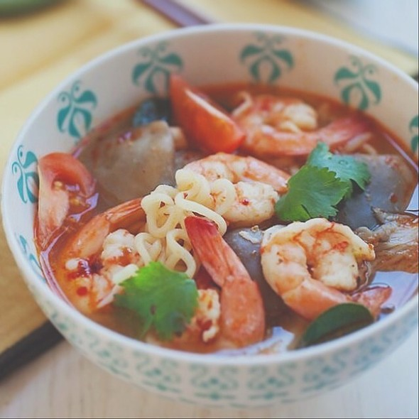 Tom Yum Soup Noodle