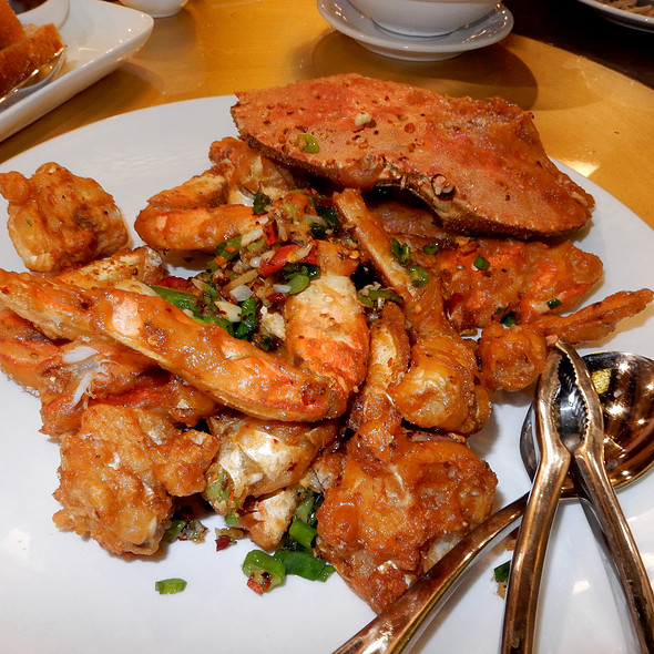 Salt And Pepper Dungeness Crab @ 粵煌 Yue Huang