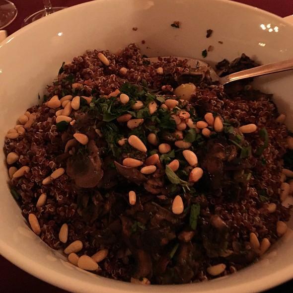 Red Quinoa And Mushroom Risotto