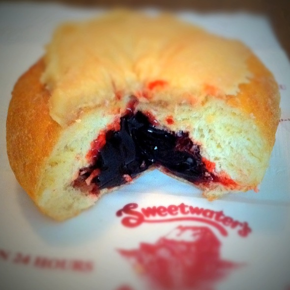 Peanut Butter & Jelly Donut @ Sweetwater's