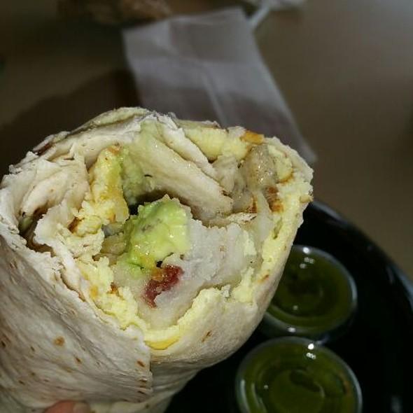 Breakfast Burrito @ D A Juice Bar Inc